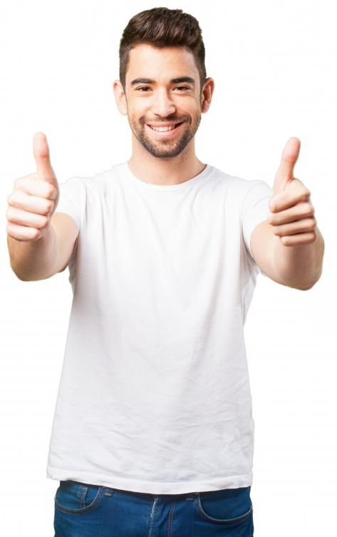 man-smiling-with-thumbs-up
